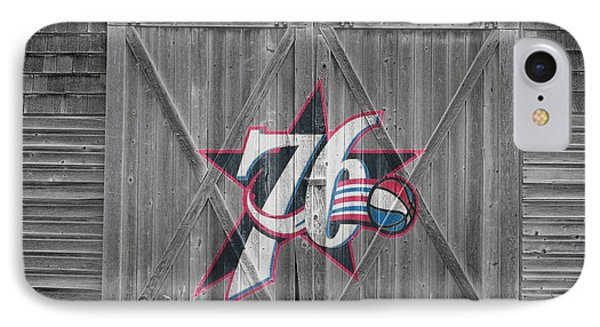 Philadelphia 76ers Phone Case by Joe Hamilton