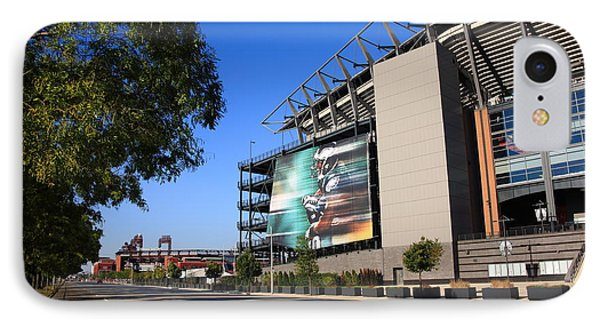 Philadelphia Eagles - Lincoln Financial Field Phone Case by Frank Romeo