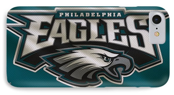 Philadelphia Eagles Uniform IPhone Case by Joe Hamilton