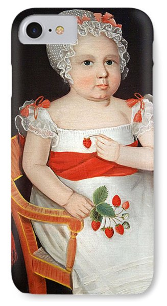 Phillips' The Strawberry Girl IPhone Case by Cora Wandel