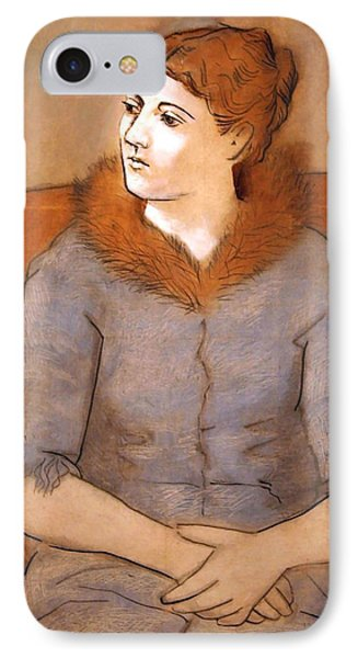 Picasso's Madame Picasso IPhone Case by Cora Wandel
