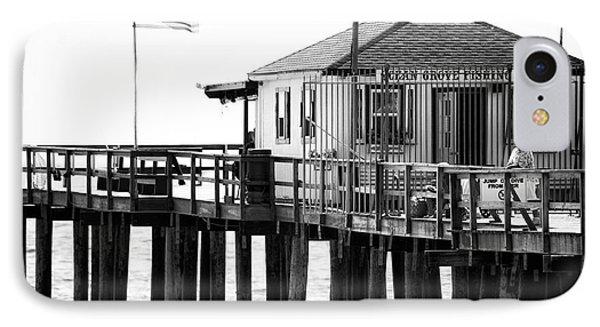 Pier View Phone Case by John Rizzuto