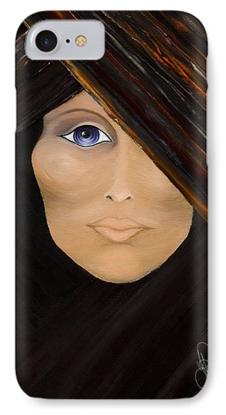 IPhone Case featuring the painting Piercing The Veil  by Yolanda Raker