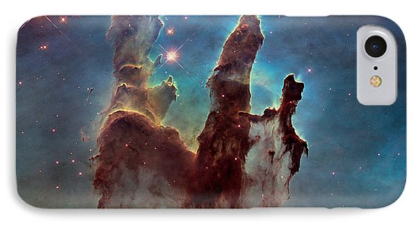 Pillars Of Creation IPhone Case by Nasa