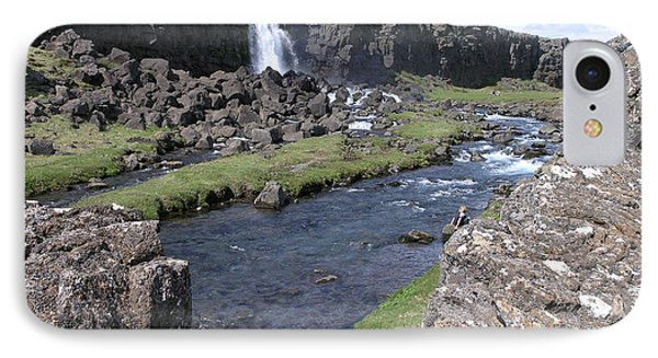 IPhone Case featuring the photograph Pingvellir by Christian Zesewitz
