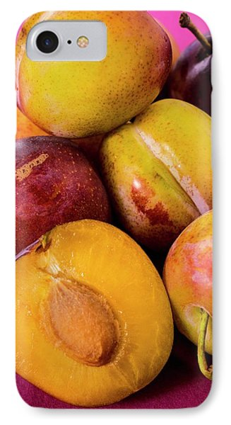 Plums IPhone Case by Aberration Films Ltd