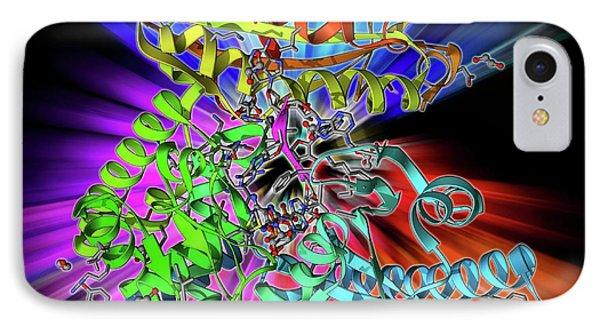 Polya Polymerase And Rna IPhone Case by Laguna Design