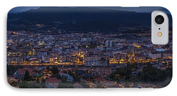 IPhone Case featuring the photograph Pontevedra Panorama From A Caeira by Pablo Avanzini