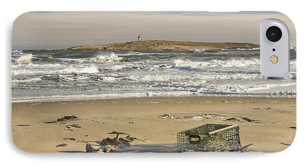 Popham Beach On The Maine Coast IPhone Case by Keith Webber Jr