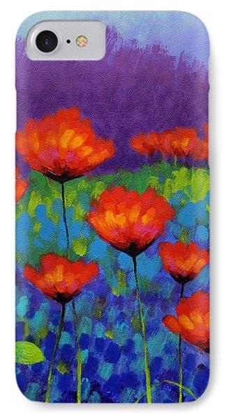 Poppy Meadow IPhone Case by John  Nolan