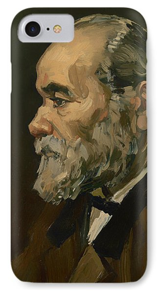 Portrait Of An Old Man IPhone Case by Mountain Dreams
