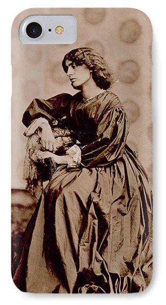 Portrait Of Jane Morris Phone Case by John Parsons