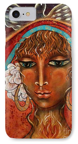 Pray For Peace Phone Case by Maya Telford