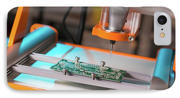 Printed Circuit Board Processing IPhone Case by Wladimir Bulgar