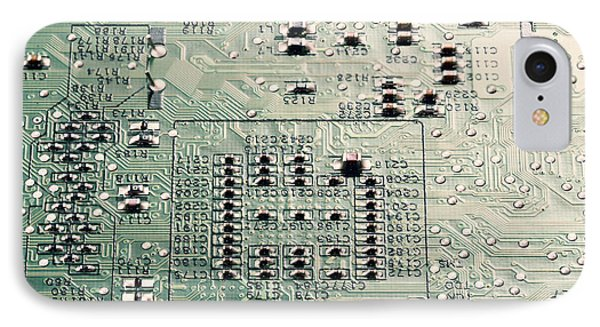 Technological iPhone 7 Case - Printed Circuit Board by Wladimir Bulgar/science Photo Library