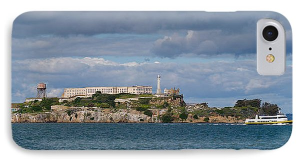 Prison On An Island, Alcatraz Island IPhone Case by Panoramic Images