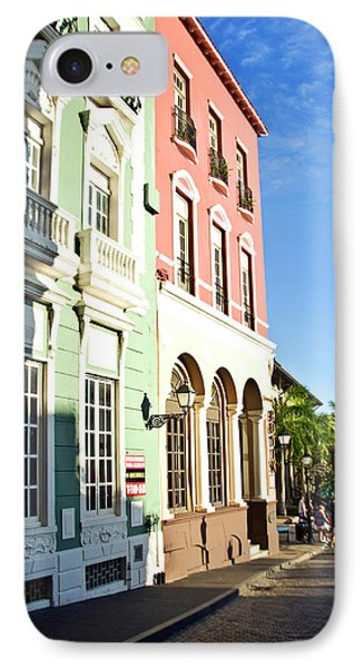 Puerto Rico, Old San Juan, Street IPhone Case by Miva Stock
