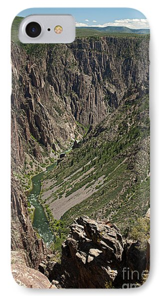 Pulpit Rock Overlook Black Canyon Of The Gunnison IPhone Case