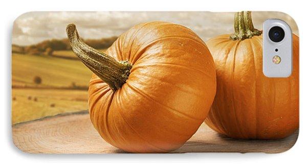 Pumpkins Phone Case by Amanda Elwell