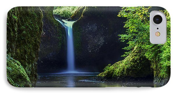 Punchbowl Falls IPhone Case by Brian Jannsen
