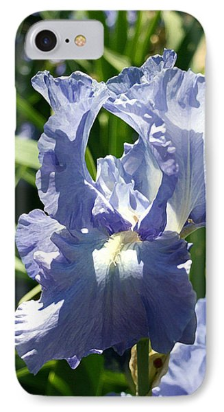 Purple Bearded Iris Phone Case by Ellen Henneke