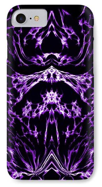 Purple Series 1 Phone Case by J D Owen