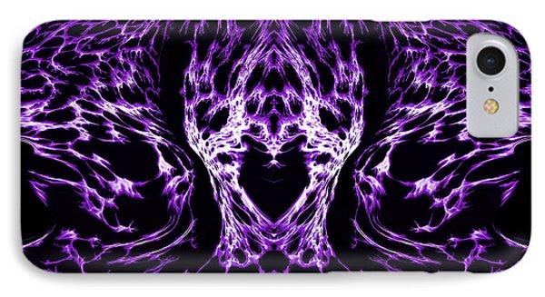 Purple Series 4 Phone Case by J D Owen