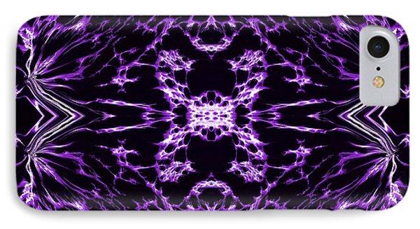 Purple Series 9 Phone Case by J D Owen