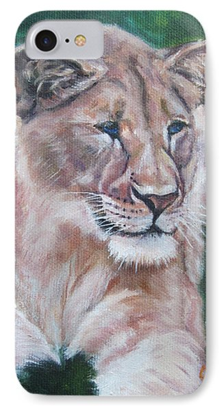 Queen Of The Beast,lioness IPhone Case