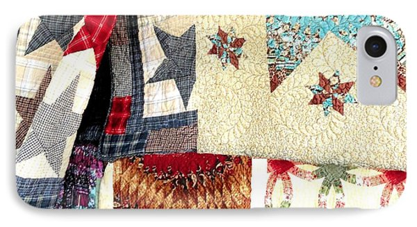 IPhone Case featuring the photograph Quilts For Sale by Janette Boyd
