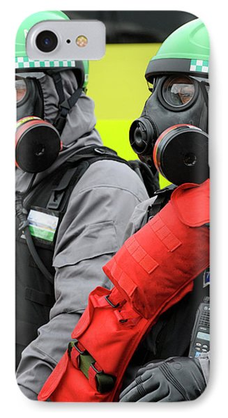 Radiation Emergency Response Workers IPhone Case by Public Health England
