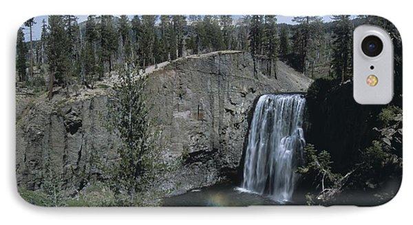 Rainbow Falls California IPhone Case