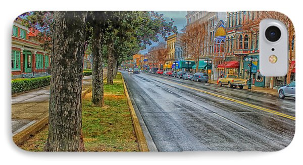 Rainy Day In Hot Springs Arkansas IPhone Case by Mountain Dreams