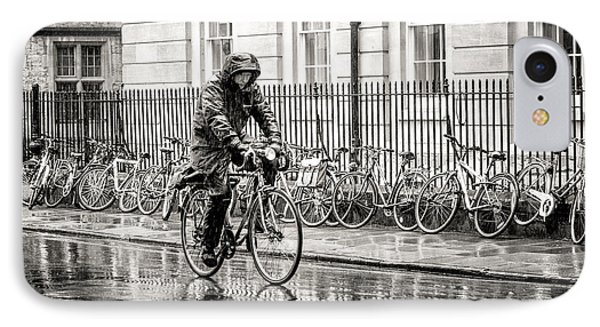 Rainy Day Ride IPhone Case