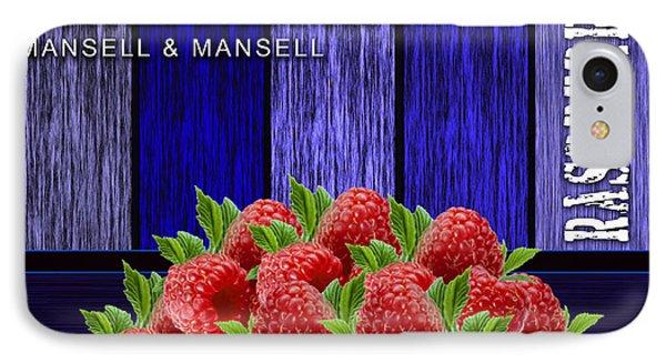 Raspberry Fields IPhone Case by Marvin Blaine