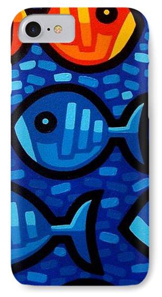 Rebel Fish II IPhone Case