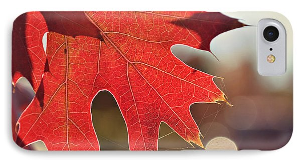 IPhone Case featuring the photograph red by Rima Biswas