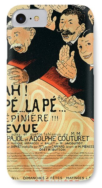 Reproduction Of A Poster Advertising IPhone Case by Jules Alexandre Gruen or Grun