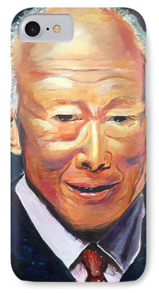 IPhone Case featuring the painting R E S P E C T by Belinda Low