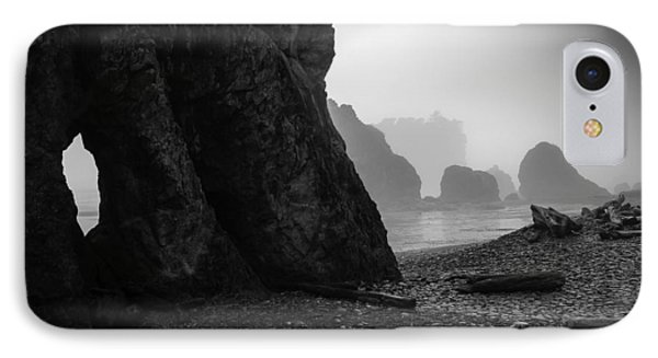 Rialto Beach IPhone Case by Jean-Jacques Thebault