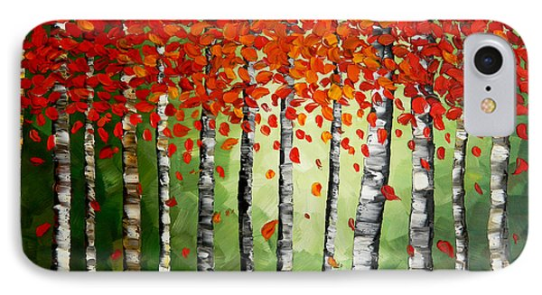 Rich Trees Phone Case by Denisa Laura Doltu