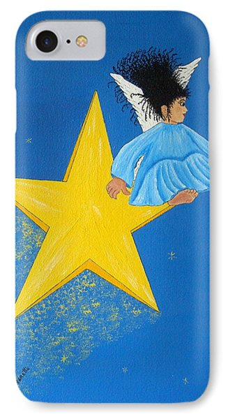 Ride A Shooting Star IPhone Case by Pamela Allegretto