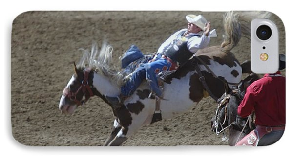 Ride Em Cowboy IPhone Case by Jeff Swan