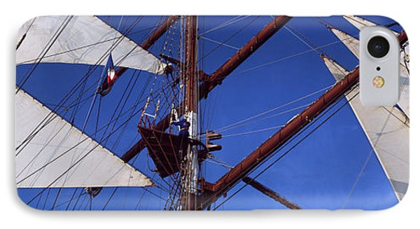 Rigging Of A Tall Ship, Finistere IPhone Case by Panoramic Images