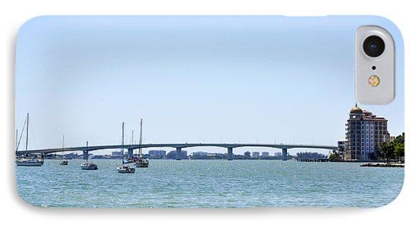 Ringling Bridge Afternoon Sarasota Florida IPhone Case