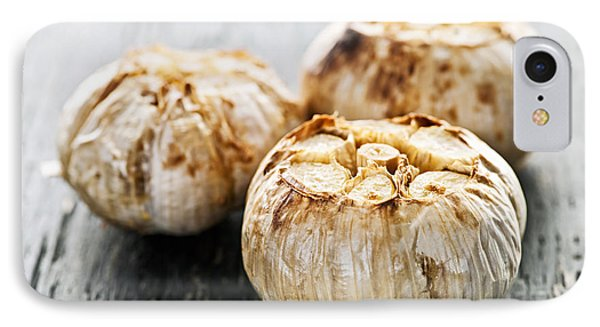 Roasted Garlic Bulbs IPhone Case by Elena Elisseeva