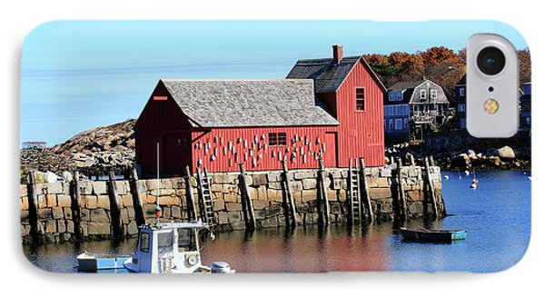 Rockport Motif Number 1 IPhone Case by Lou Ford