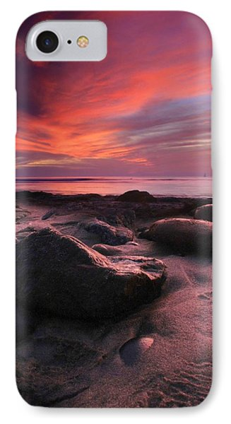 Rocky Sunset IPhone Case by Scott Cunningham