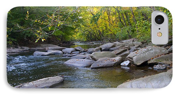 Rocky Wissahickon Creek IPhone Case