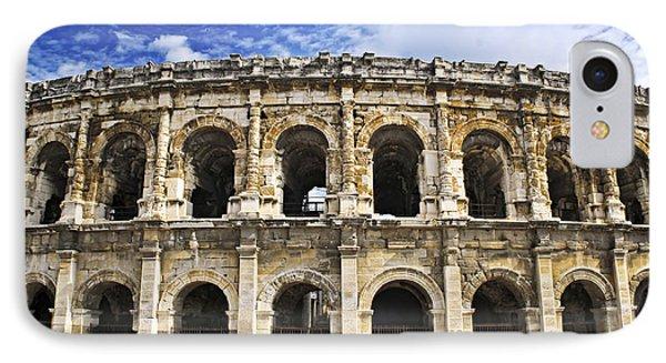 Roman Arena In Nimes France Phone Case by Elena Elisseeva
